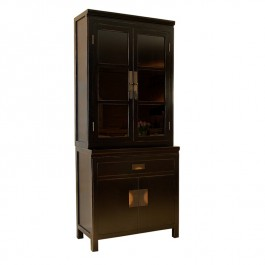 Chinese Black Lacquer Dresser