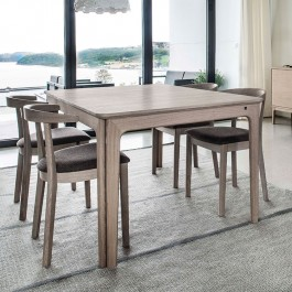 Skovby White Oak Extending Dining Table 26