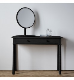 Frank Hudson Black Wycombe Dressing Table With Drawer