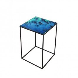 Notre Monde Midnight Crush Compact Side Table (3 Sizes)