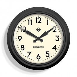Newgate 50's Electric Clock Black