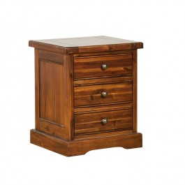 Chaucer 3 drawer Side Table