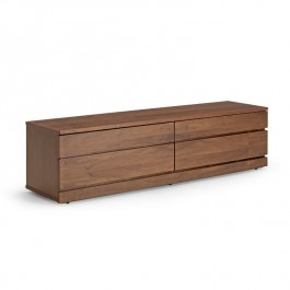 Skovby Walnut Lacquer TV Unit #87