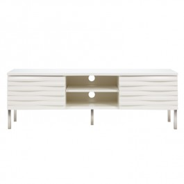 Conran White Wave TV Unit