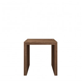 Ethnicraft Teak Open Side Cube Side Table