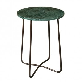 Dutchbone Side Table Emerald Marble
