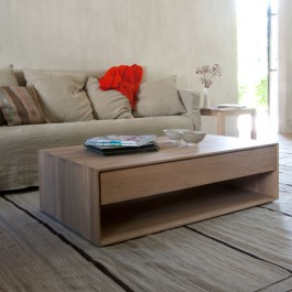 Ethnicraft Oak Coffee Table Nordic