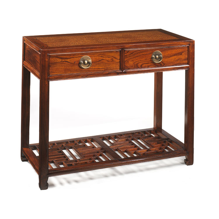 ... Oriental Carved Console Table. Image 1