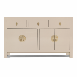 Chinese Lacquer Sideboard Oyster Grey