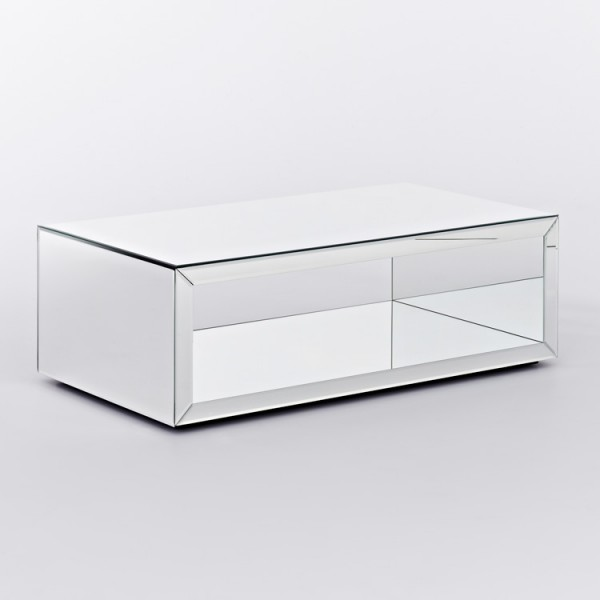 contemporary mirrored coffee table contemporary mirrored furniture r52 contemporary