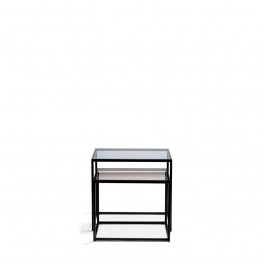 Ethnicraft Metal Anders Nesting Side tables
