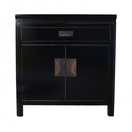 Small Black Lacquer Sideboard