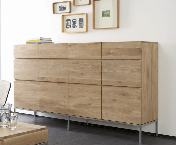 Large Ligna Oak Sideboard Ethnicraft Furniture At 4 Living