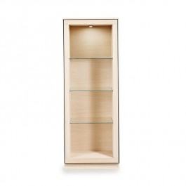 Display Cabinet White Oak Oil