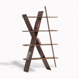 Wewood Bookshelf XI Walnut