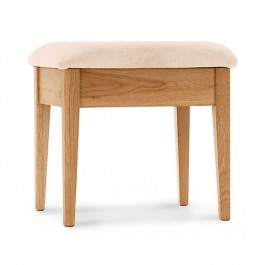 Oak Bedroom Stool Spirit