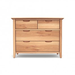 2+2 Drawer Chest Oak Grace