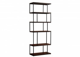 Conran Balance Alcove Bookcase Wood/Metal Black
