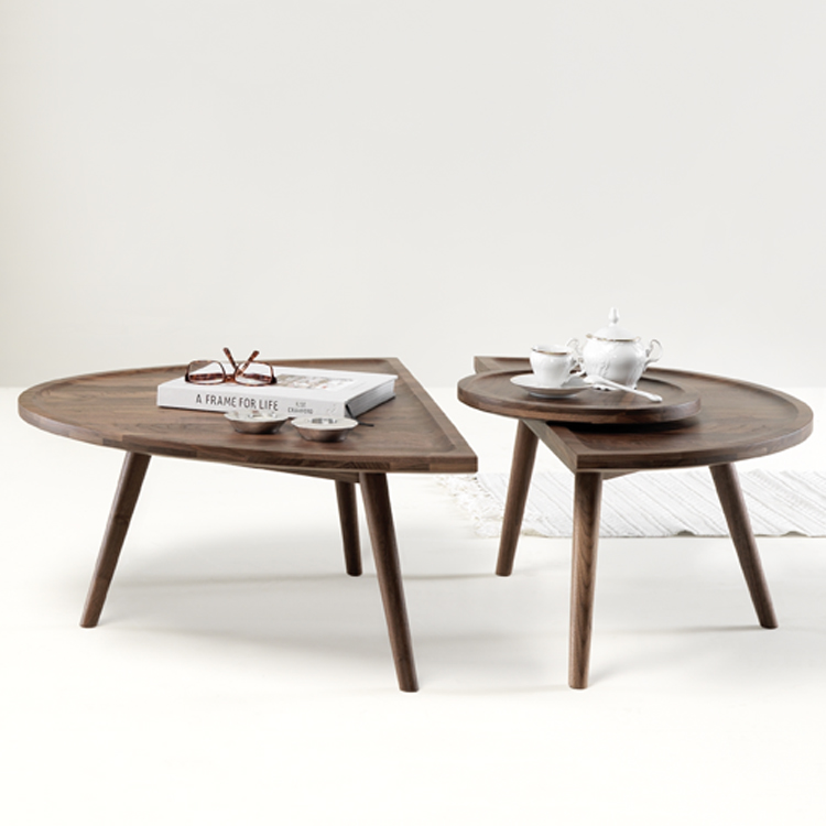 Wewood solid wood colombo coffee table for Coffee table delivery