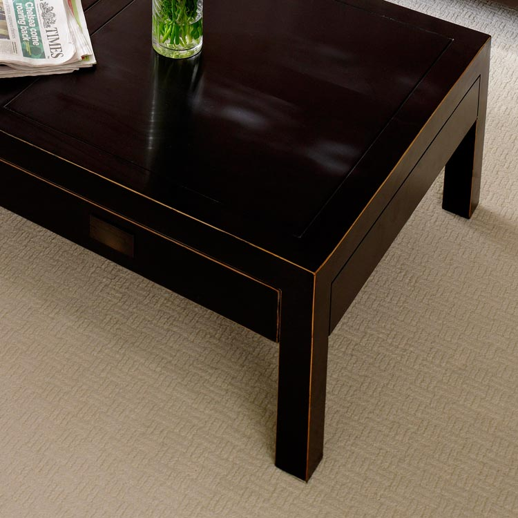 Chinese Black Lacquer Coffee Table Oriental Designs At 4 Living
