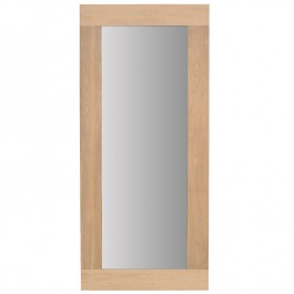 Ethnicraft Large Solid Oak Mirror