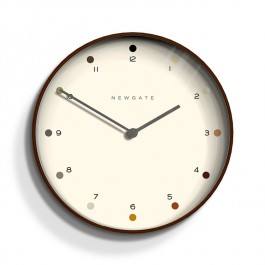 Newgate Wall Clock Mr Clarke Dots