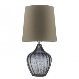 Heathfield Smoke Glass Table Lamp - Vivienne