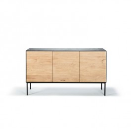 Blackbird Sideboard Oak Ethnicraft 3 Doors