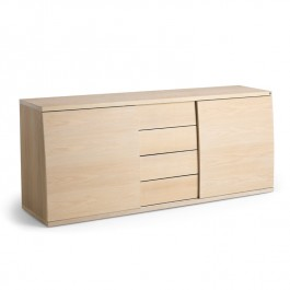 Skovby White Oiled Oak Sideboard #753