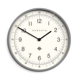 Newgate Wall Clock Academy Grey