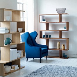 Conran Balance Tall Bookcase Oak