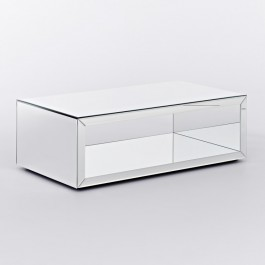 Contemporary Mirrored Coffee Table