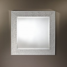 Contemporary Mirror - Oslo Silver Square
