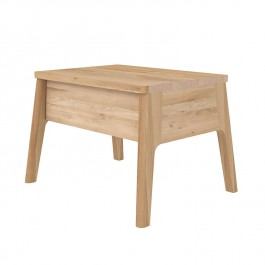 Ethnicraft Oak Bedside Table Air