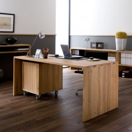 Ethnicraft Oak U Desk Office