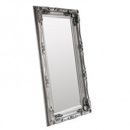 Mirrors by Gallery Carved Louis Frame Silver