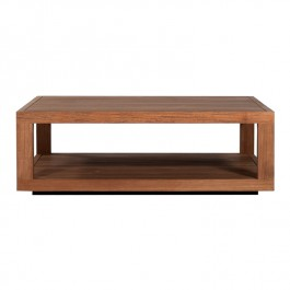 Ethnicraft Teak Coffee Table Duplex