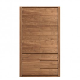 Ethnicraft Contemporary Teak Wardrobe Shadow