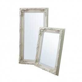Mirrors by Gallery Carved Louis Frame Cream