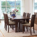 Skovby Walnut Extending Dining Table #19 (lifestyle)
