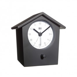 Bird Song Alarm Clock - Black Wood