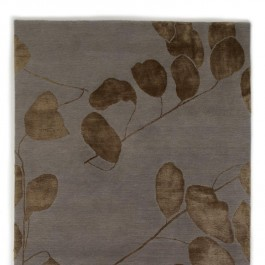Himalayan Hand-Knotted Rug - Leaf