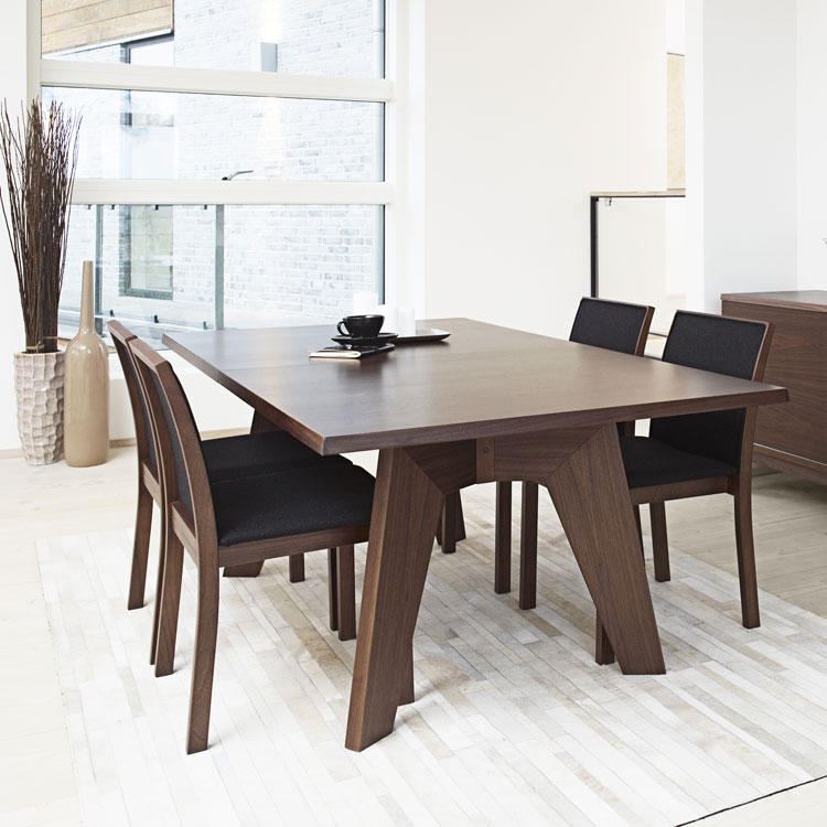 Skovby Walnut Extending Dining Table #13 (lifestyle)