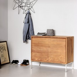 Ethnicraft Teak Sideboard Essential 2 Door