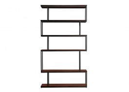 Conran Balance Tall Bookcase Wood/Metal Black