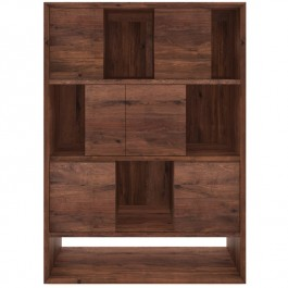 Ethnicraft Modern Walnut Storage Cabinet