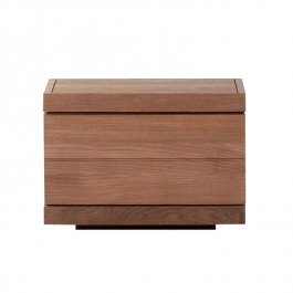 Teak One Drawer Nightstand - Burger
