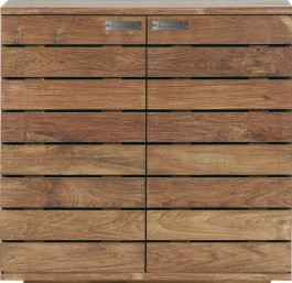 Teak Shoe Storage Cupboard