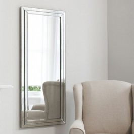 Mirrors by Gallery Chambery Leaner Mirror Pewter