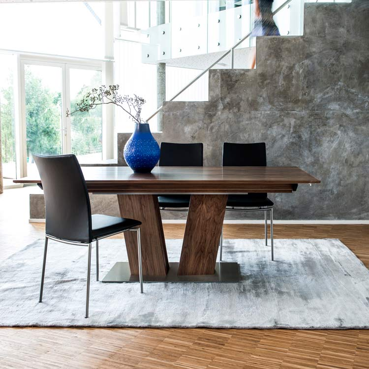 Skovby Walnut Extending Dining Table 39 Lifestyle